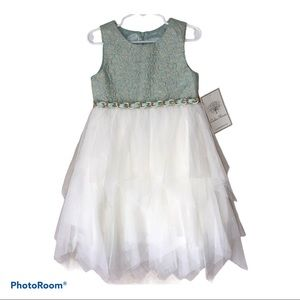 Couture Princess Little Girl Party Dress Size 4